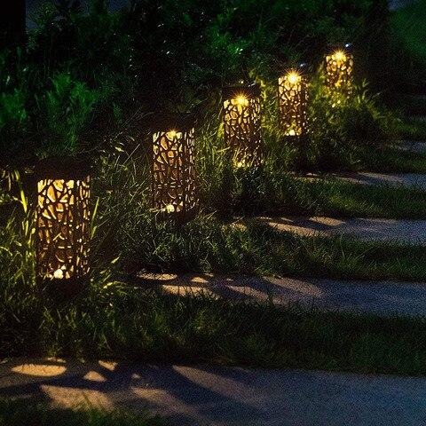 solar levou luzes do jardim solar gramado