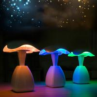Bedside Colorful 7 Colors LED 2 4W Desk Lamp Mushroom Light Control Night Light