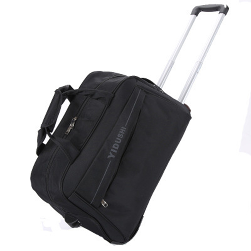 97ffafa505dd Travel Bag Hand Luggage 20 inch 32L Rolling Duffle Bags Waterproof Oxford  Suitcase Wheels Carry On Luggage Unisex-in Travel Bags from Luggage   Bags  on ...