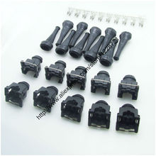 10 компл./лот 2Pin 10X EV1 короткий штекер Женский Топливная форсунка разъем 750cc 1000cc 650cc для AUDI VW Skoda Passat VAG group