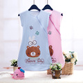 Cotton Vest Baby Sleeping Bag For Summer Infant Sleepsacks Newbrons Envelope Baby Kid's Saco De Dormir Bebe Length 70cm and 85cm