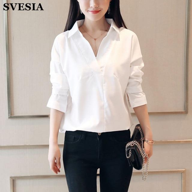 759840cb22d Women s Lace Splice Shirts Temperament Thin Long Sleeve V-collar Womens  shirt 2018 Summer Plus Size Ladies Trend Tops Blusas