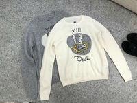 2018 Новое поступление осень и зима Для женщин свитера Созвездие узор вышивки вязаный шерстяной свитер Бесплатная доставка