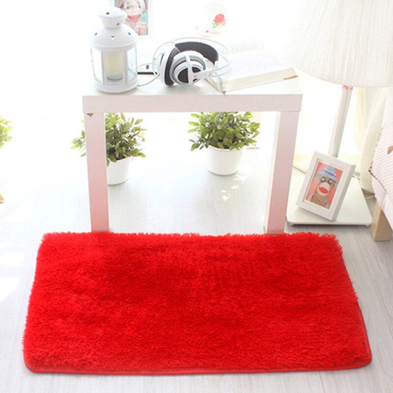 Free Shipping 2 pcs Embroidered printing Non-slip mats Big Door Bathroom Carpet Bedroom Door Soft High Quality Floor Mat HLM001