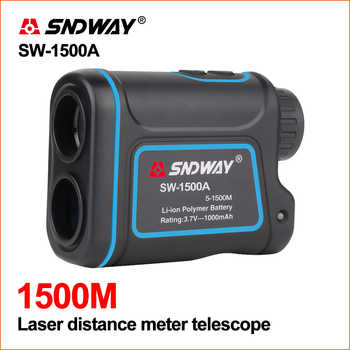 SNDWAY Laser Rangefinder Distance Meter Golf Digital Distance Meter Hunting Telescope Measure 1200M 1500M Laser Rangefinder - DISCOUNT ITEM  20% OFF All Category