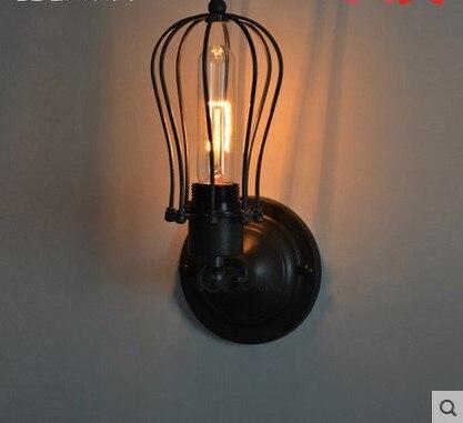 Rétro Loft Style Industriel Vintage Mur Lampe Edison Mur Applique ...