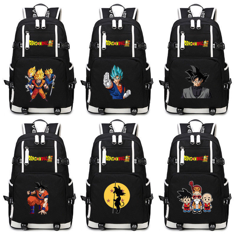 Dragon Ball Kakarotto fils Goku Super Saiyan cartable Bookbag Anime sacs à dos sac à main femmes hommes sac à dos nouveau