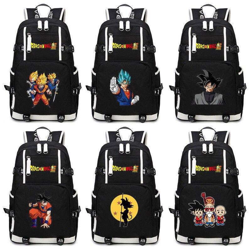 Dragon Ball Kakarotto fils Goku Super Saiyan cartable Bookbag Anime sacs à dos sac à main femmes hommes sac à dos nouveau