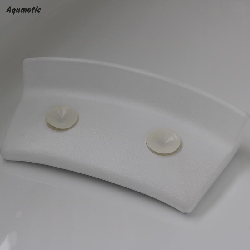 Aqumotic Home Spa Bath Pillow For Straight Back Tub Pillow Rest ...
