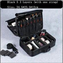 Makeup Bag Organizer Professional Artist Box Larger Bags Cute Korea Suitcase Brushes Tools Case