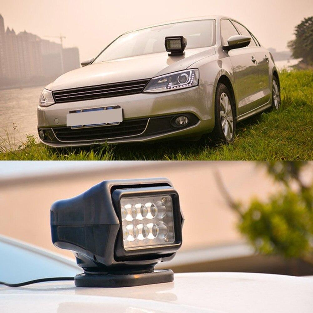 50 Вт пятно света пульт дистанционного управления супер яркий светодио дный светодиодный поиск свет водостойкий открытый прожектор для гру...