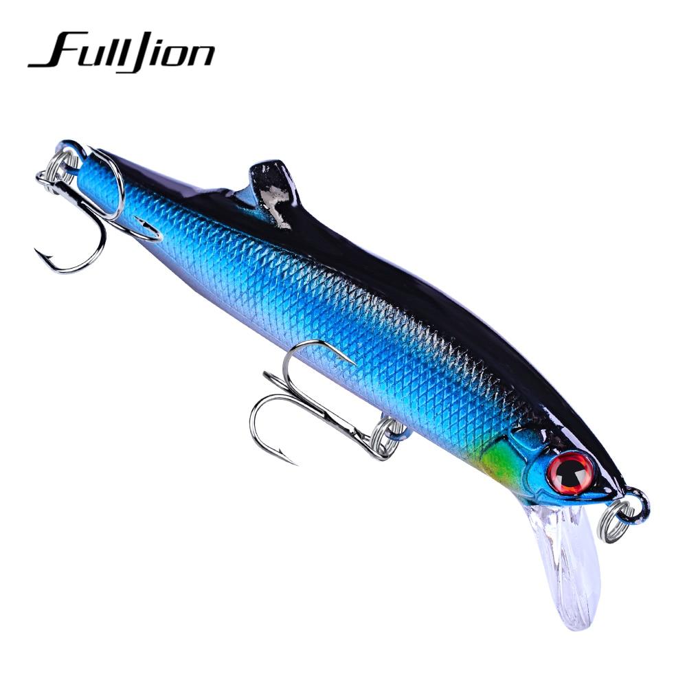 Fulljion 9cm 26g Hard Baits Fishing Lures 6# Hook Artificial Crankbaits Wobblers Tackle Tools Pesca 3D Eye 5 Colors цена