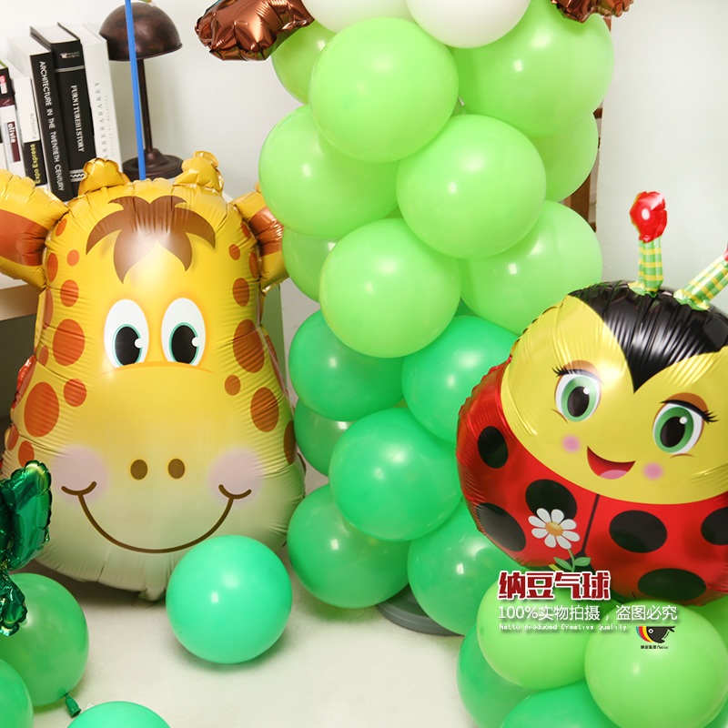 Djur Formad ballonger Fjäril Nyckelpiga biet Groda Snail Ballonger - Semester och fester - Foto 2