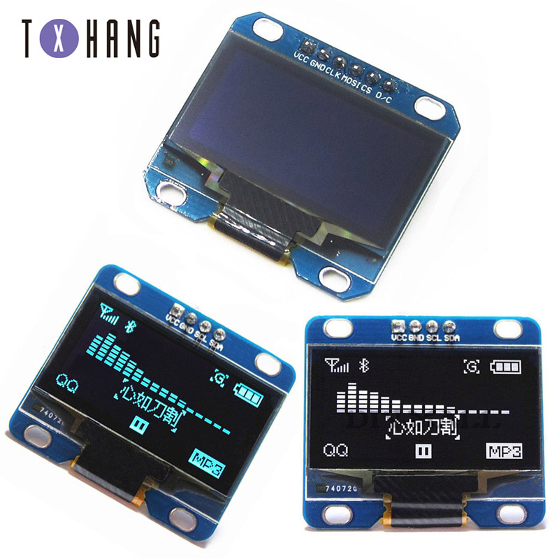 1.3 OLED modulo di colore bianco e blu IIC I2C 128X64 OLED da 1.3 pollici A CRISTALLI LIQUIDI di trasporto Display A LED Modulo per Arduino SPI IIC I2C1.3 OLED modulo di colore bianco e blu IIC I2C 128X64 OLED da 1.3 pollici A CRISTALLI LIQUIDI di trasporto Display A LED Modulo per Arduino SPI IIC I2C