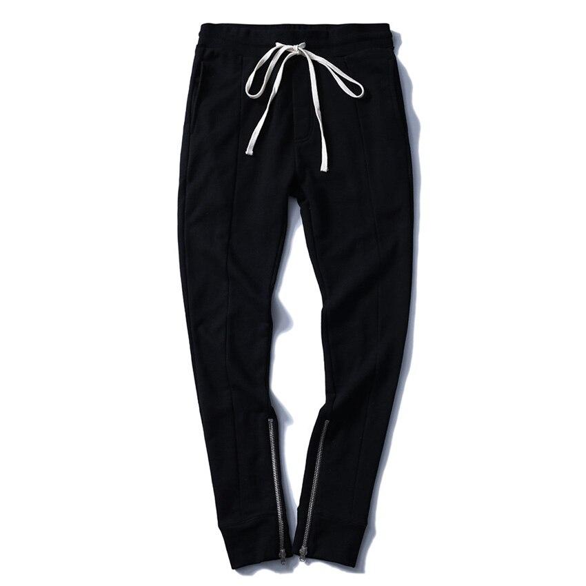 Jogger gris Casual Pantalón Pantalones Hip Hop Hombres Negro Negro Los Nuevas Harem Llegadas De Moda Otoño Algodón 2017 xHnSTqOB