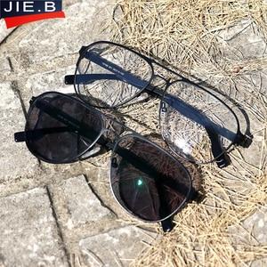 Image 5 - רטרו Photochromic דו מוקדי משקפי קריאת גברים Diopter Presbyopic משקפיים לזכר Eyewear + 1.0 + 1.5 + 2.0 + 2.5 + 3.0