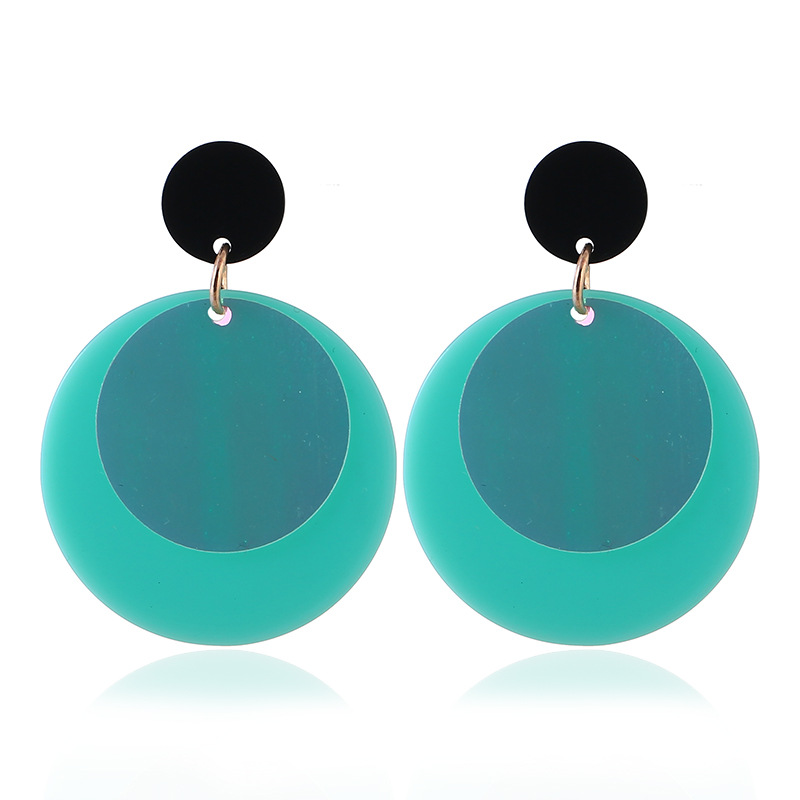 2018 New European Fashion Round Earring Femme Party Gifts Simple Cute Black Stud Earrings Women Special Jewelry Dropshipping