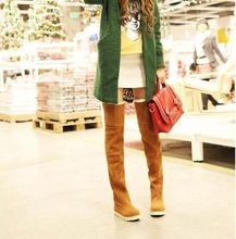 Winter Women Long Boots Over the Knee Flat Snow Boots Casual Warm Knee High Boots Thigh
