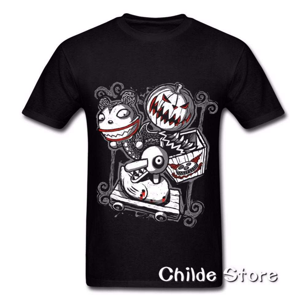 5fa45717f7d2c2 2018Hot selling 3D Print Mens Grunge Mardi gras tshirt Big size XXXL Scary  Toys Men's Tee Shirts Round Collar Garment Shop