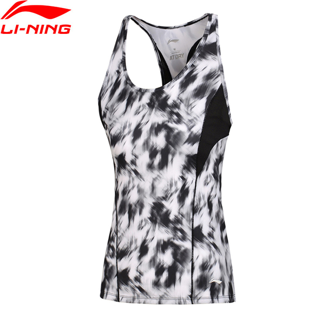 64bb712666 Li-Ning Women s Training Vest AT DRY Fitness Slim Fit Breathable Comfort  Fitness LiNing Sports Vest AVSM054 WBX313