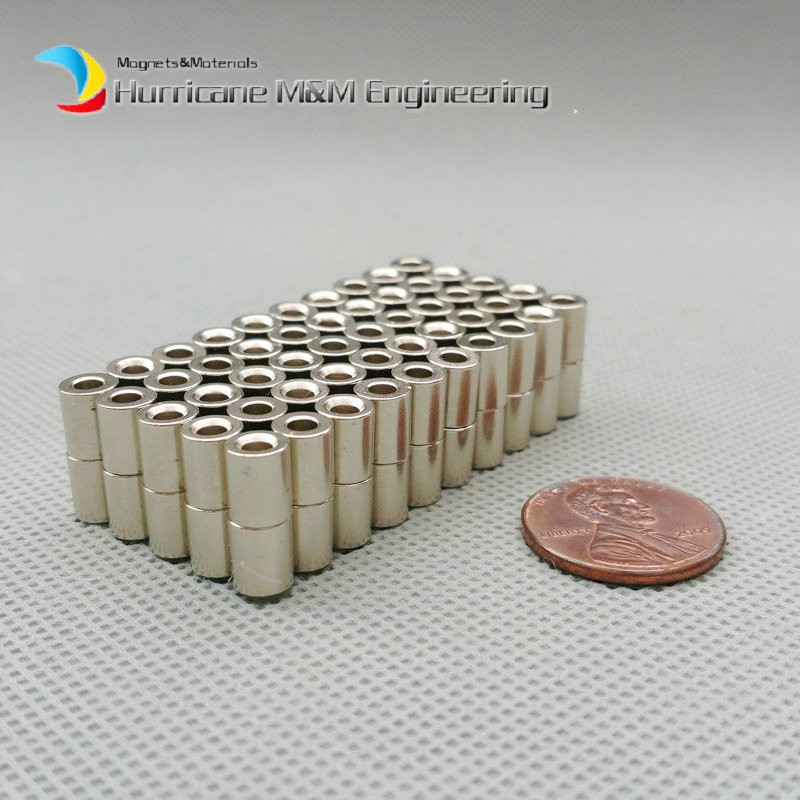1 Pack N42H NdFeB Magnet Ring OD 5.4x2.6x6.6 mm 0.21'' Strong Magnets Axially Magnetized NiCuNi or Zinc Coated Rare Earth Magnet 1 pack grade n38 ndfeb micro ring diameter od 9 5x4x0 95 mm 0 37 strong axially magnetized nicuni coated rare earth magnet
