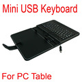 "Clearance Price !!! Mini USB Keyboard Smart Cover Leather Cases Bag Stylus Pen for 7"" Tablet PC MID Free Shipping"