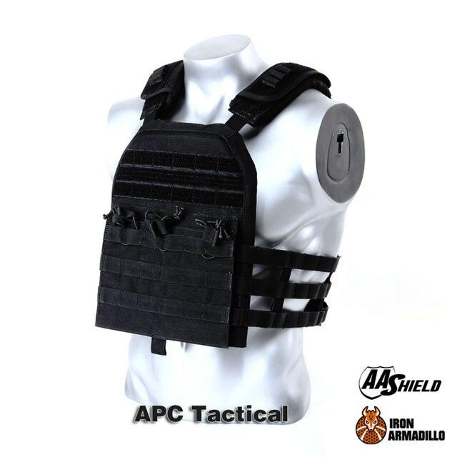 APC Armadillo Plate Carrier Ballistic Tactical Molle Gear Body Armor Carrier Bullet Proof Vest Belt Kit