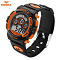 New Fashion HOSKA Brand Children Sports Watches LED Digital Quartz Military Watch Boy Girl Student Multifunctional Wristwatches