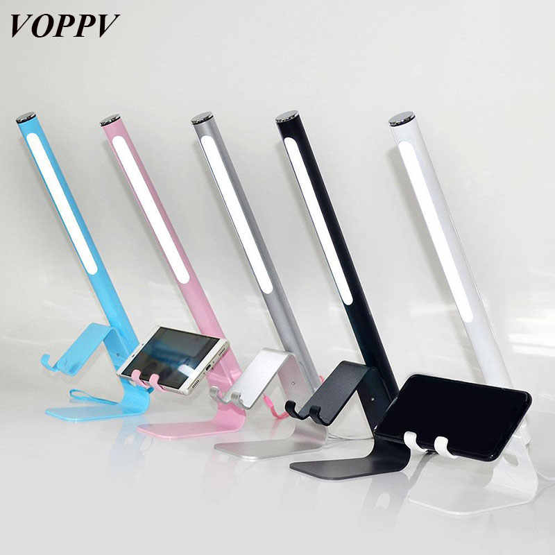 Lampe Lamp Voppv Children'skid Led Charger Rechargeable De Table For Reading Lecture Mesa Liseuselampara Usb n0OPkw8