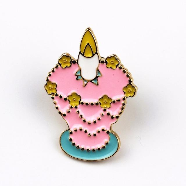 Cute Cartoon Cat Enamel Brooch Pins