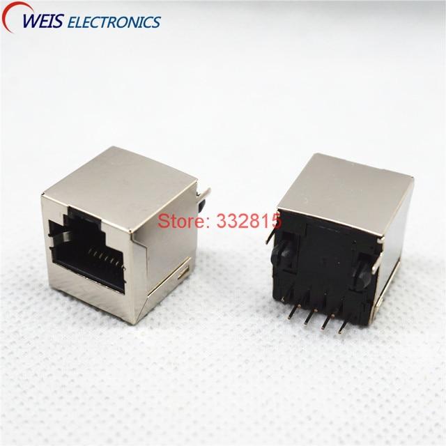Aliexpress.com : Buy 10PCS RJ45 Ethernet SOCKET 5224 8P8C DIP ...