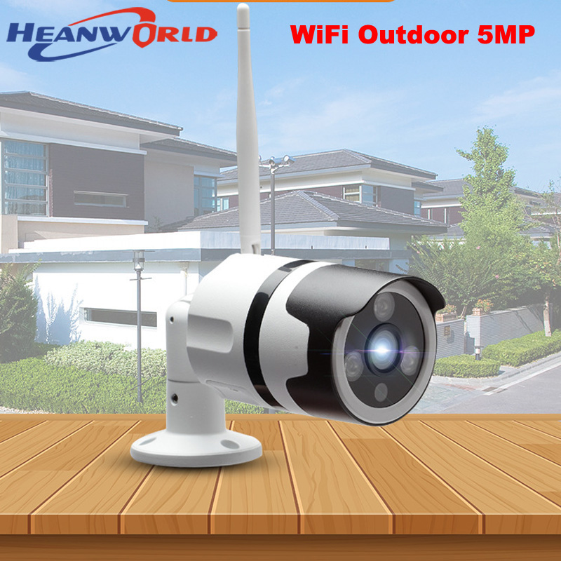 Dutiful Heanworld Hd Wifi Camera 5mp Outdoor Ip Camera Wireless Security Camera 3mp Waterproof Surveillance Cctv Camera System Sd Slot Video Surveillance Security & Protection