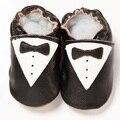 Mocasín de Cuero Genuino de Calidad superior Del Bebé Guapo Zapatos Bebe Primeros Caminante Suave Recién Nacido Prewalker Zapatillas de Zapatos Para Niños