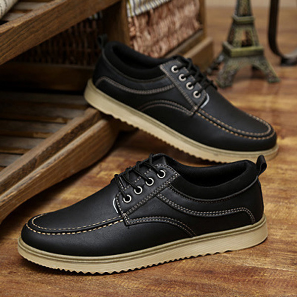 Men S Fashion Sneakers Mens Boat Shoes Genuine Leather Topsider