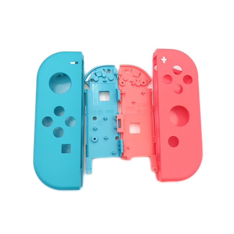 Replacement Plastic Hard Neon Green & Pink Housing Shell Case For Nintendo Switch NS Controller Joy-Con