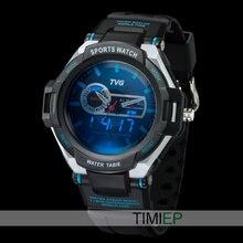 TVG Men Sports military digital Watch Army wristwatch Blue LED Pointer 30AM Waterproof Vibration Alarm Watch