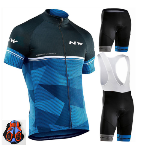 2019 Cycling Jersey Set MTB Bicycle Cycling Clothing Breathable Mountian Bike Clothes Maillot Roupas Ciclismo
