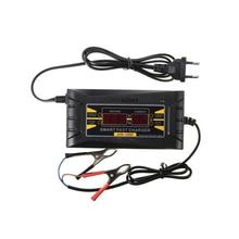 Automatica Completa di Smart 12 V 6A Piombo Acido/GEL Auto Caricabatteria con Display LCD Caricabatterie Rapido XR657