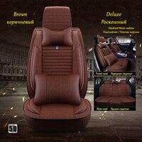 Front+Rear car seat cover for Renault Megane Modus Nevada Safrane Sandero Stepway Scenic Talia Twingo Clio Duster Logan