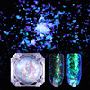 1Box 0.2g Multi Flakies Chameleon Starry Cloud Paillette Powder Nail Sequins Irregular Holographic Glitter Galaxy Holo Flakes