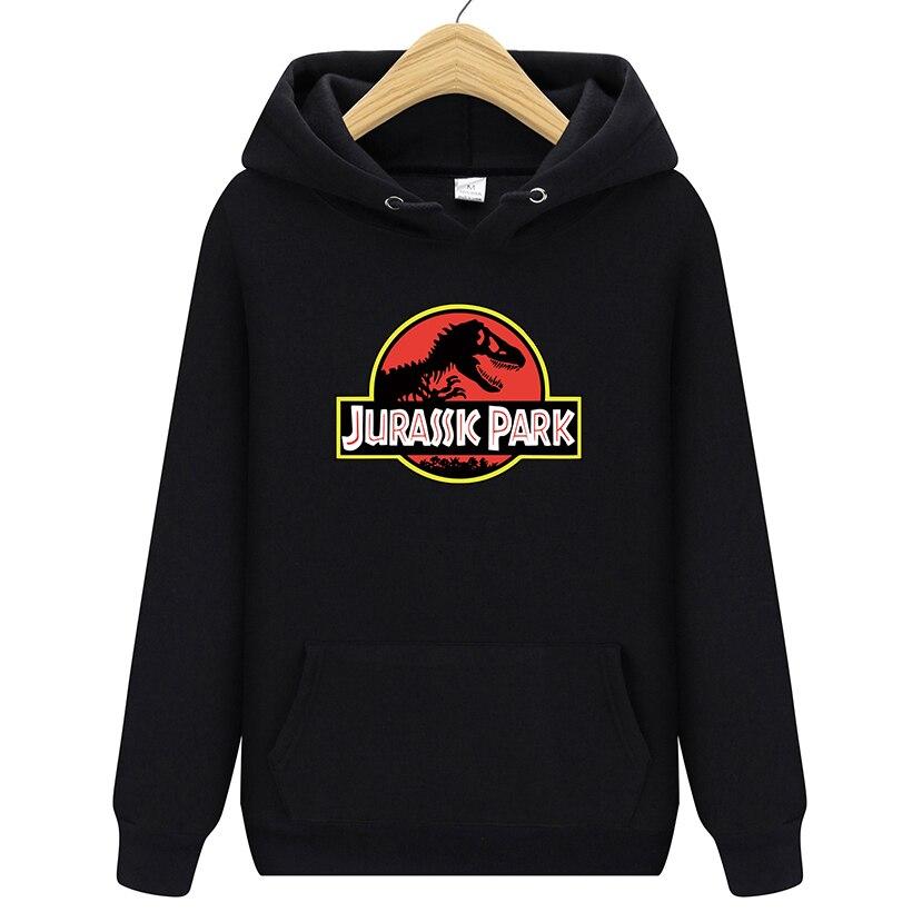 Jurassic Park Sweatshirt Men Women Pullover Fleece Hoodies Vintage Style Jurassic World Hoodie Unisex Jumper Casaco Feminino #01 sweatshirt