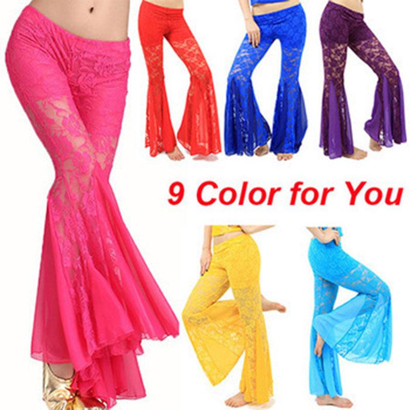 2016 nové ženy břišní taneční kalhoty sexy krajkové břišní tanec kalhoty bellydance kalhoty břišní tanec Egypt kalhoty kalhoty sukně ML