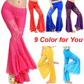 2016 New Women Belly Dance Trousers Sexy Lace Belly Dancing Pant Bellydance Pant Belly Dance Egypt Pants Trouser Skirts ML