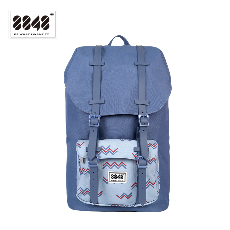 Popular Travel Backpack Waterproof Women Men Backpack Large Capacity 15.6 Inch Computer Soft Back Soft Handle 8848 111-006-014 503 012 006 014