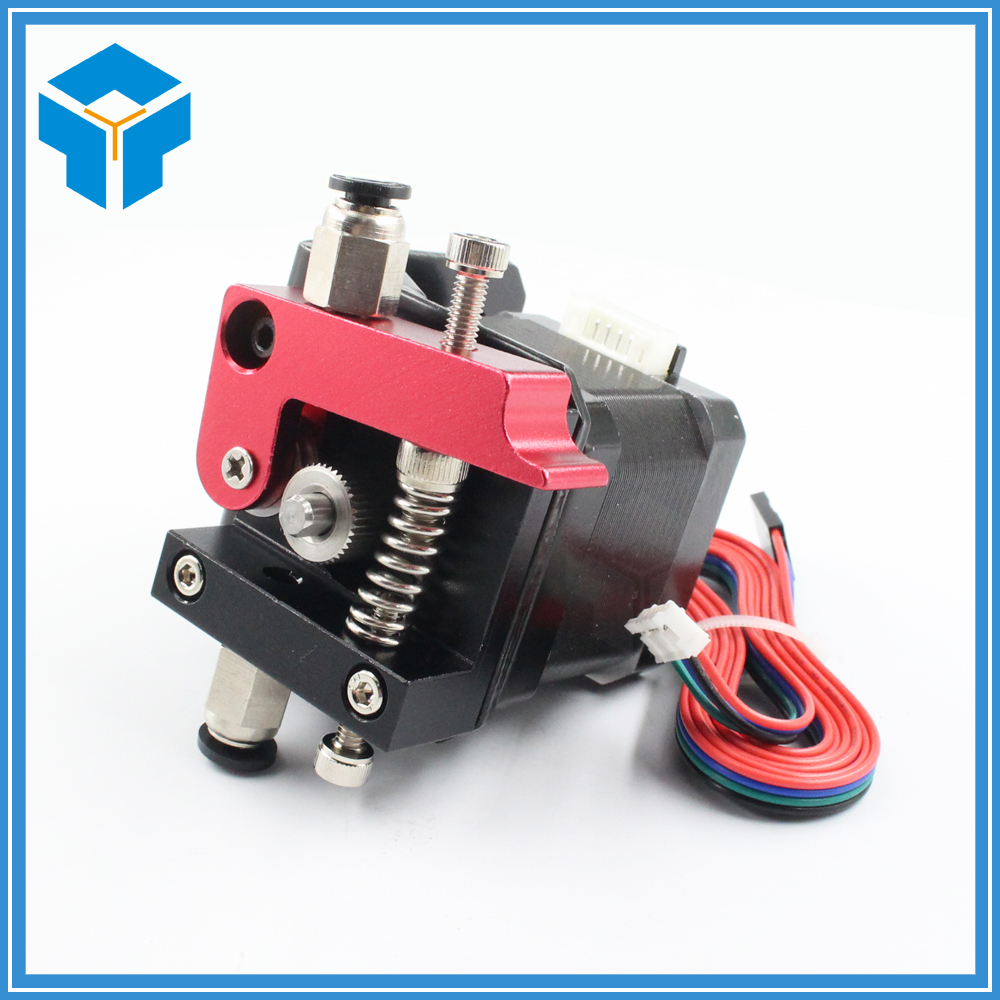 3D printer accessories MK8 Full Metal Aluminum Alloy Bowden Extruder for 1.75MM Filament extruder Improved Version parts
