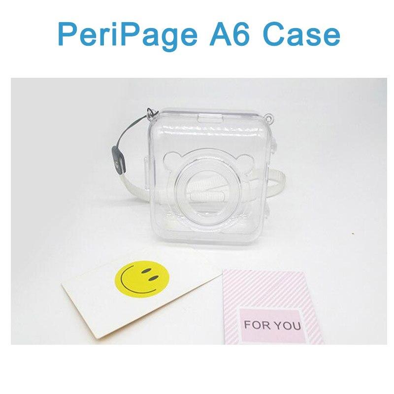 Термальность Бумага этикетка бумажный стикер Бумага для PeriPage Бумага, которые только начинают фотопринтер - Цвет: A6 Case Only