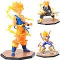 Anime Dragon Ball Z Goku Super Saiyan Fighers Príncipe Vegeta Manga Trunks Goku Gohan Figura de Acción de Recogida de Juguetes Modelo regalo