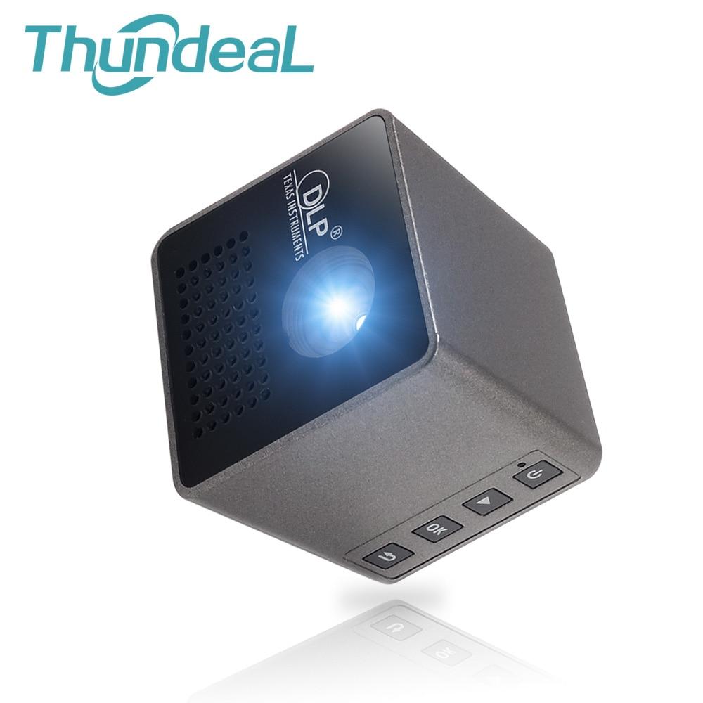 Unic p1 p1 + ezcast 30 ansi lumens proyector dlp wifi inalámbrica mini pico proy