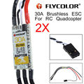Free shipping! Electric Speed Controller 30A Brushless Raptor BLHeli OPTO 2-4S 2Pcs