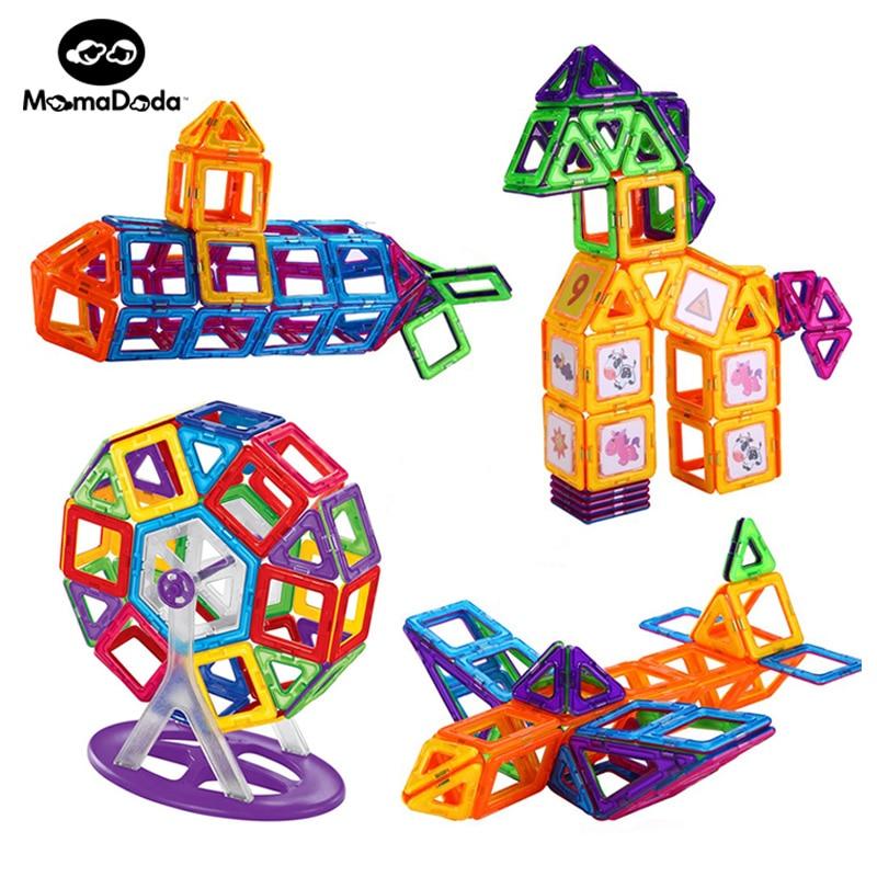 MAGNETIC CONSTRUCTION BUILDING BLOCKS SET Magnetic Designer Building Blocks Kids Toys DIY Educational Toys For Children